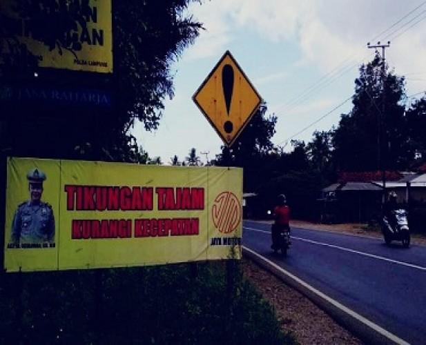 Waspada 24 Titik Rawan Kecelakaan di Lampung