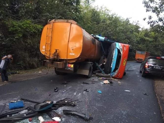 Waspada, Ini Jalur Rawan Kecelakaan dan Longsor di Lampung
