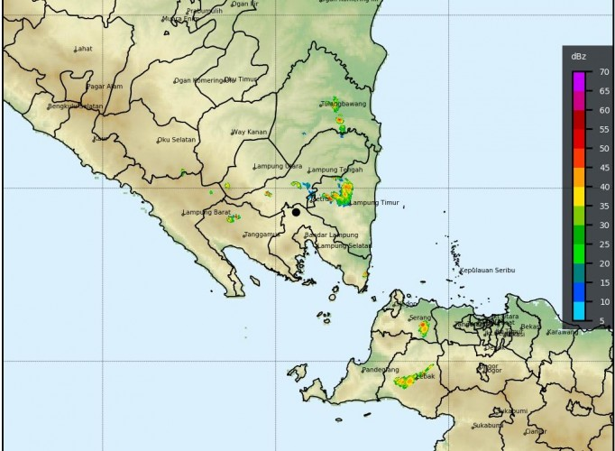 Waspada Potensi Hujan Disertai Petir dan Angin di Lampung