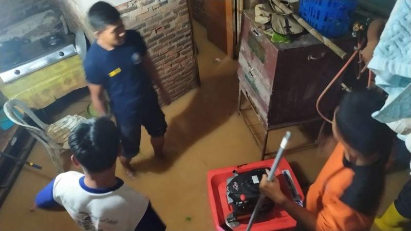 Wilayah Kecamatan Sukarame dan Sukabumi Terendam Banjir