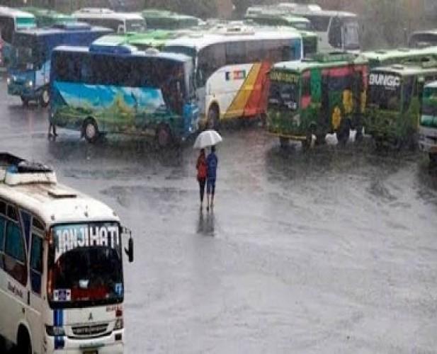 Wilayah Lampung Diguyur Hujan Hari Ini