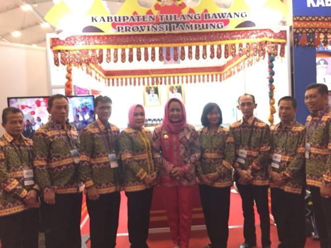 Winarti Hadiri Rakernas Apkasi di Banten