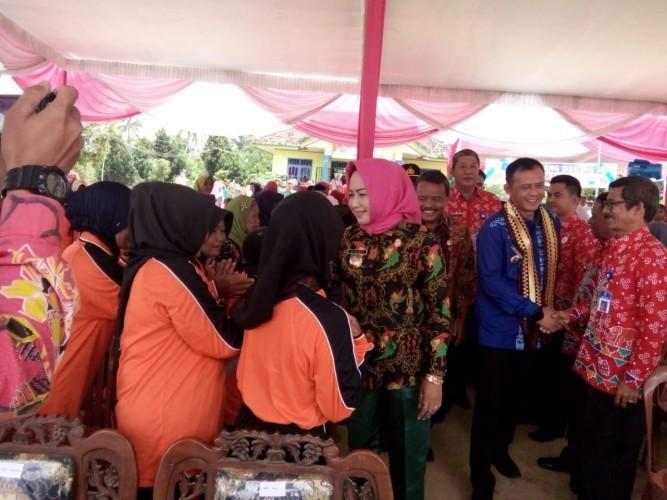 Winarti Sambut Kedatangan Tim Penilai Lomba Desa dan Kelurahan