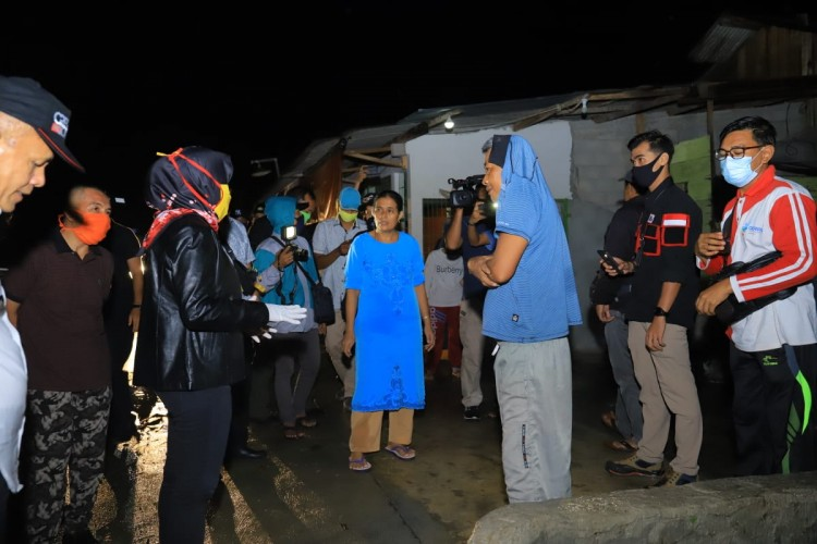 Winarti Minta Korban Puting Beliung Tulangbawang Tabah
