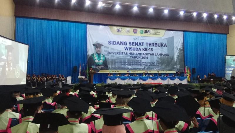 Wisuda 387 Mahasiswa, Rektor UML Ingin Lulusan jadi Pengusaha