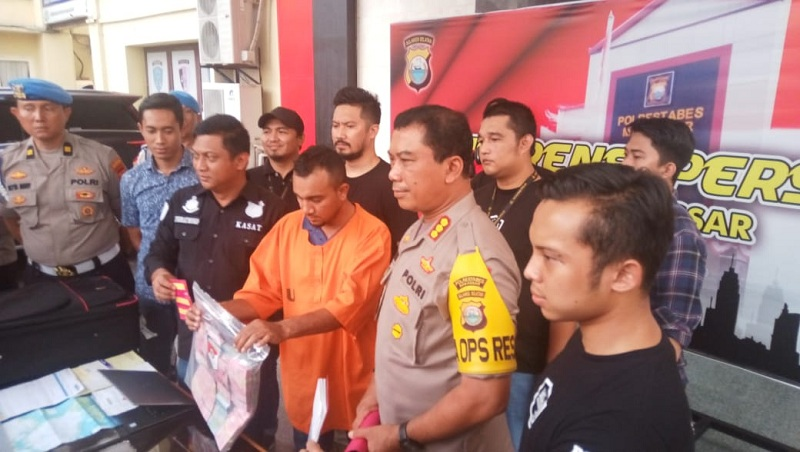 WN Malaysia Pembobol ATM Ditangkap saat Beraksi