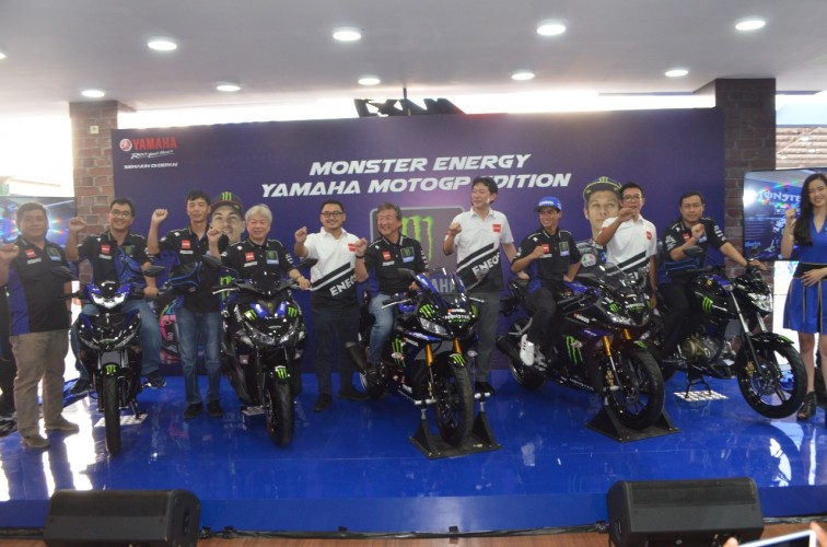 Yamaha Luncurkan 5 Model Monster Energy Yamaha MotoGP Edition