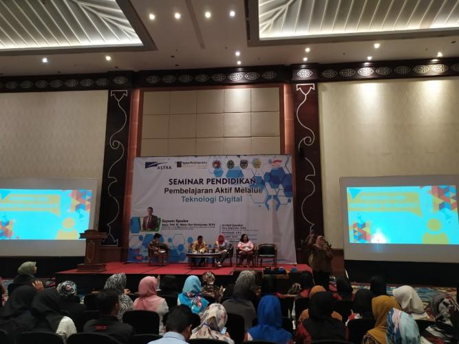 Yayasan Pendidikan Astra Gelar Seminar Karya Ilmiah Guru Binaan