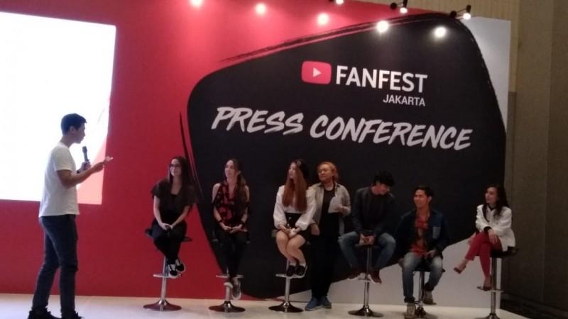 Yuk Ikuti Youtube Fanfest Live Show di Jakarta Sabtu Besok