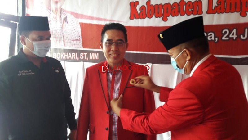 Zaiful Bokhari Resmi Jadi Kader PDIP