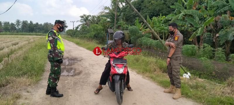 Zona Merah, Desa Pulautengah Perketat Pintu Masuk