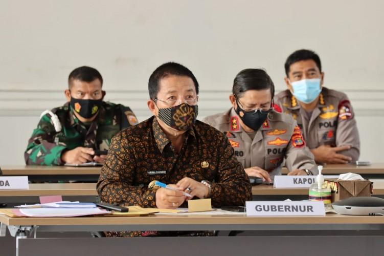 Zona Merah di Lampung Wajib WFH 75 Persen